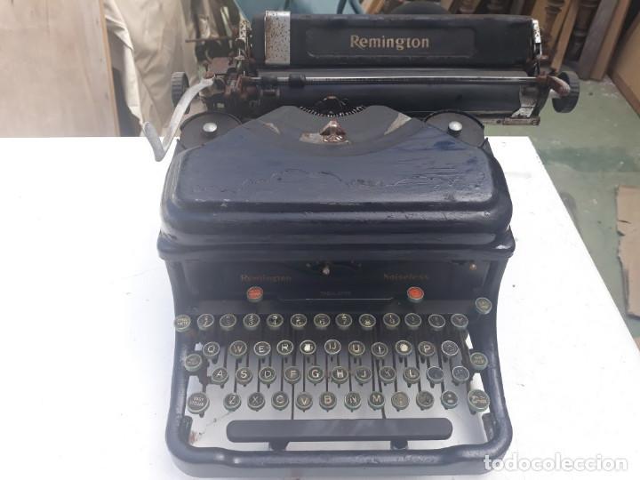 MAQUINA DE ESCRIBIR REMINGTON (Antigüedades - Técnicas - Máquinas de Escribir Antiguas - Remington)