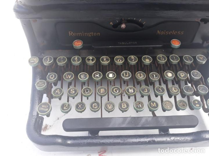 Antigüedades: maquina de escribir remington - Foto 2 - 164901466