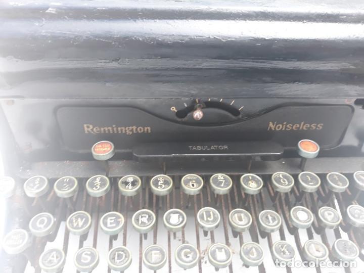 Antigüedades: maquina de escribir remington - Foto 3 - 164901466