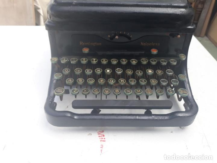 Antigüedades: maquina de escribir remington - Foto 4 - 164901466