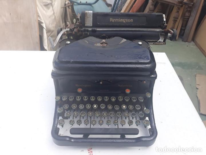Antigüedades: maquina de escribir remington - Foto 5 - 164901466