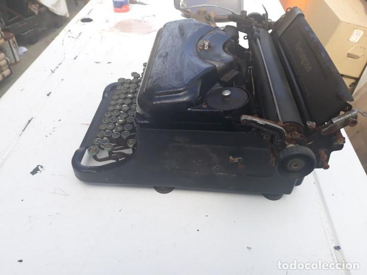 Antigüedades: maquina de escribir remington - Foto 7 - 164901466