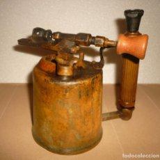 Antigüedades: SOPLETE DE GASOLINA TEIDE. Lote 164957090