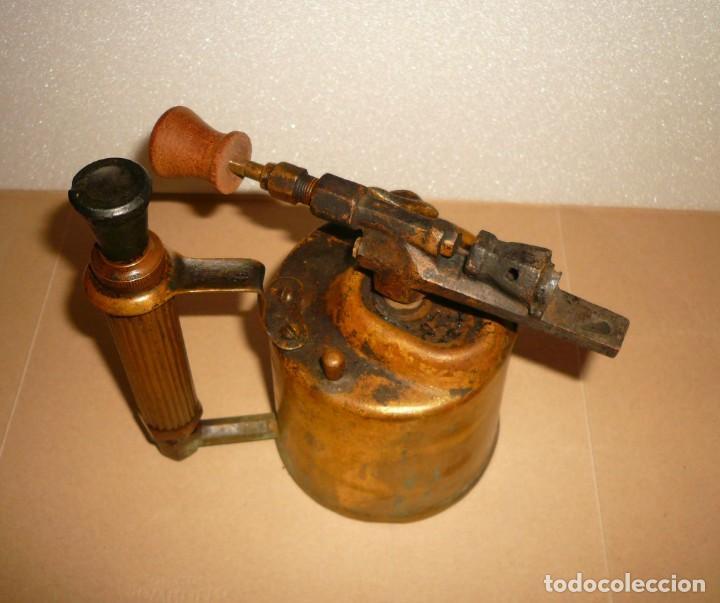 Antigüedades: SOPLETE DE GASOLINA TEIDE - Foto 6 - 164957090