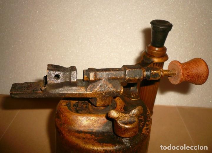 Antigüedades: SOPLETE DE GASOLINA TEIDE - Foto 8 - 164957090