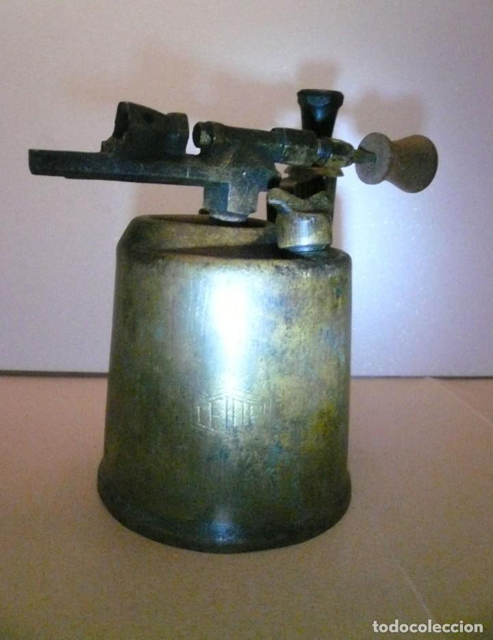 Antigüedades: SOPLETE DE GASOLINA TEIDE - Foto 9 - 164957090