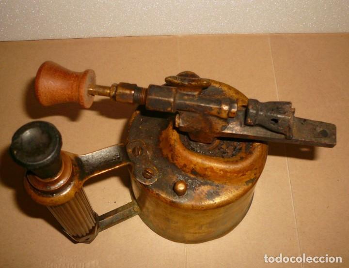 Antigüedades: SOPLETE DE GASOLINA TEIDE - Foto 11 - 164957090