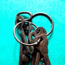 Antigüedades: 6 LLAVES ANTIGUAS. Lote 164969362