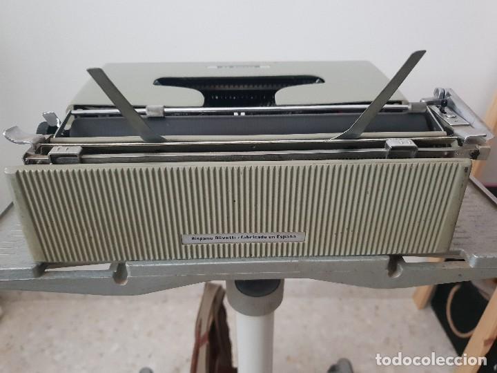 Antigüedades: Excelente máquina olivetti pluma 22 con su funda portatil - Foto 5 - 165045106