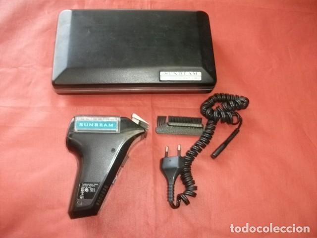 Antigüedades: Máquina de afeitar Sunbeam Shavemaster modelo SM9M (FUNCIONANDO) - Foto 3 - 165046938