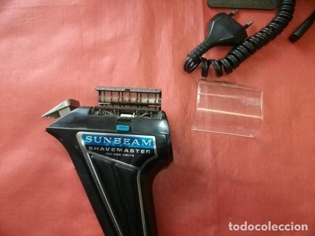 Antigüedades: Máquina de afeitar Sunbeam Shavemaster modelo SM9M (FUNCIONANDO) - Foto 4 - 165046938