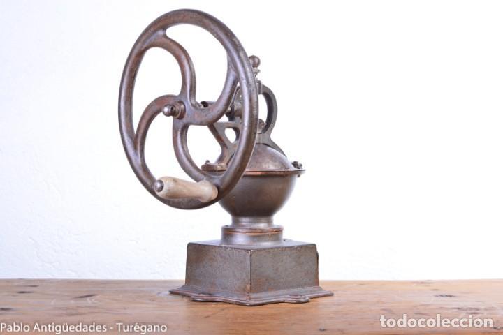 Antigüedades: Molinillo de Café antiguo marca ELMA número 0 - Excelente estado de conservación - Original - Foto 8 - 190511346