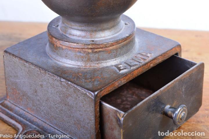 Antigüedades: Molinillo de Café antiguo marca ELMA número 0 - Excelente estado de conservación - Original - Foto 2 - 190511346