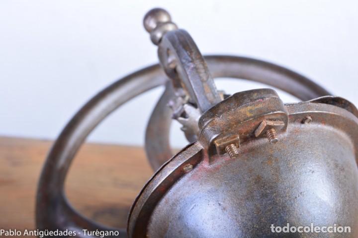 Antigüedades: Molinillo de Café antiguo marca ELMA número 0 - Excelente estado de conservación - Original - Foto 6 - 190511346