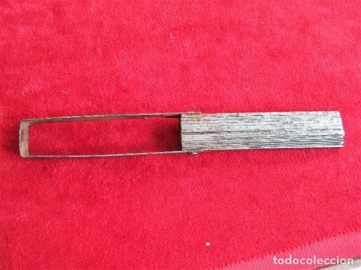 Antigüedades: GALGAS 20 UNIDADES MARCA TARSA SELLADA CON METRO EN LA BASE - Foto 6 - 165240498