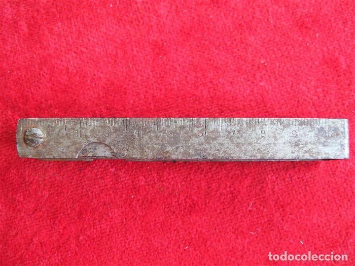 Antigüedades: GALGAS 20 UNIDADES MARCA TARSA SELLADA CON METRO EN LA BASE - Foto 8 - 165240498