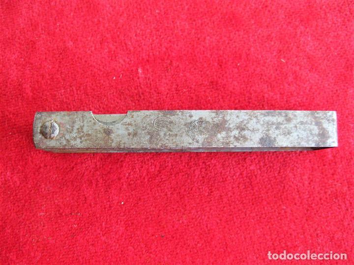 Antigüedades: GALGAS 20 UNIDADES MARCA TARSA SELLADA CON METRO EN LA BASE - Foto 9 - 165240498