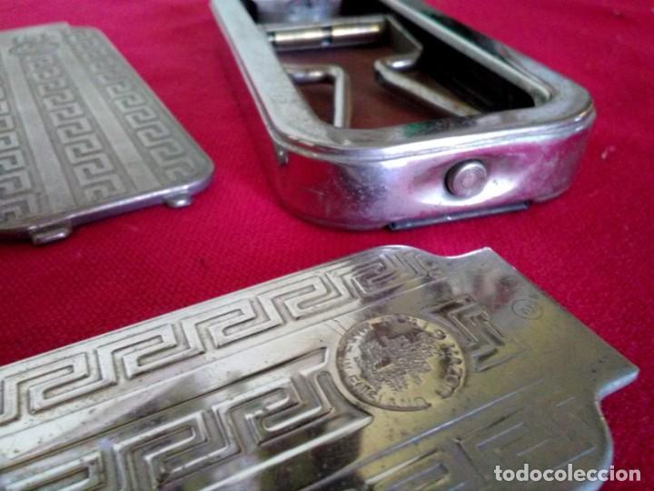 EQUIPO COMPLETO DE AFEITADO ANTIGUO ROLLS RAZOR 1927 (Antigüedades - Técnicas - Barbería - Varios Barbería Antiguas)