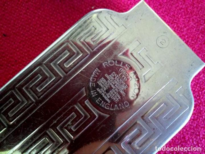 Antigüedades: Equipo completo de afeitado antiguo Rolls Razor 1927 - Foto 2 - 165244770