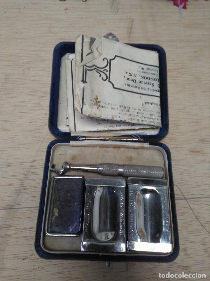 Antigüedades: Equipo completo de afeitado antiguo Rolls Razor 1927 - Foto 6 - 165244770
