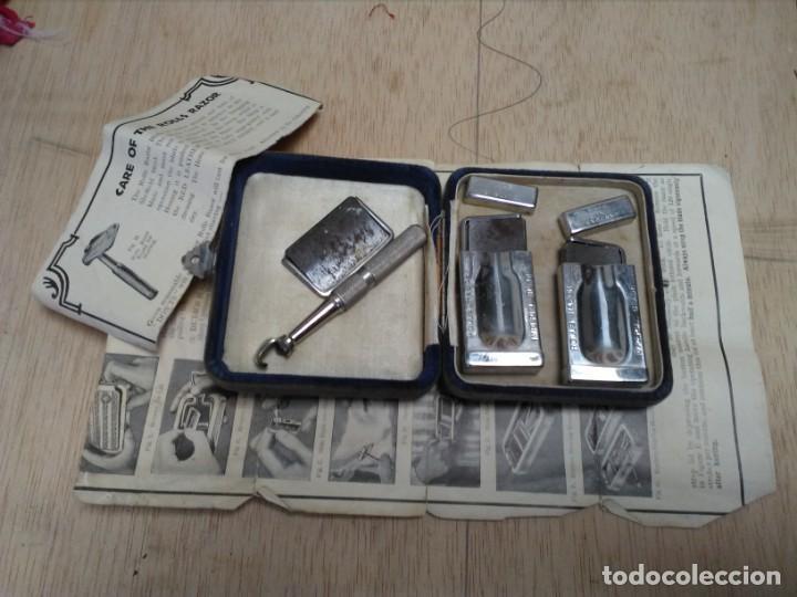 Antigüedades: Equipo completo de afeitado antiguo Rolls Razor 1927 - Foto 7 - 165244770