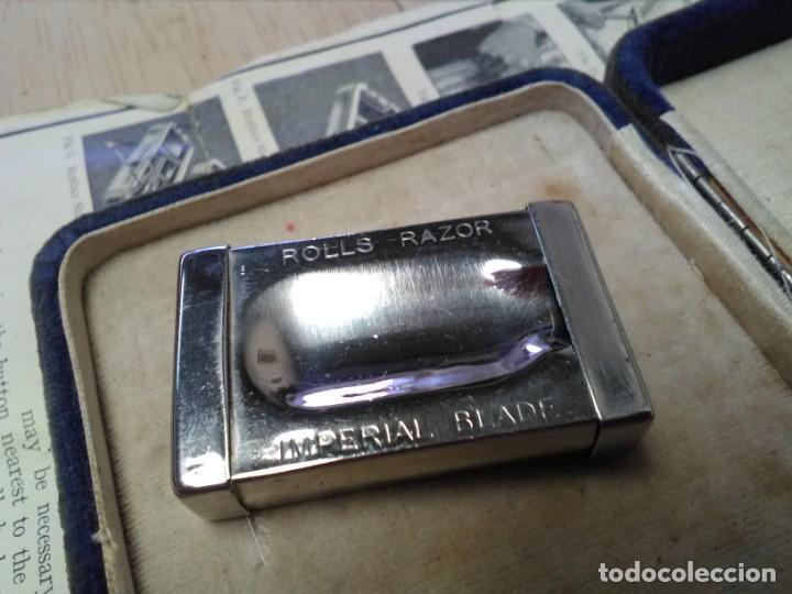 Antigüedades: Equipo completo de afeitado antiguo Rolls Razor 1927 - Foto 9 - 165244770