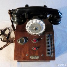 Teléfonos: CENTRALITA DE TELÉFONOS FRANCESA - AÑOS 60. Lote 165246842