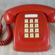 Teléfonos: TELEFONO HERALDO ROJO - CITESA - 1979 - FUNCIONA. Lote 165262374