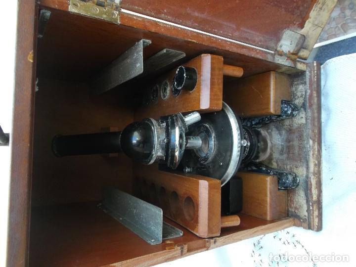 Antigüedades: microscopio,Stand Zeiss Jena LgO de principios de los años 40 microscopio aleman, decoracion, - Foto 17 - 165315410