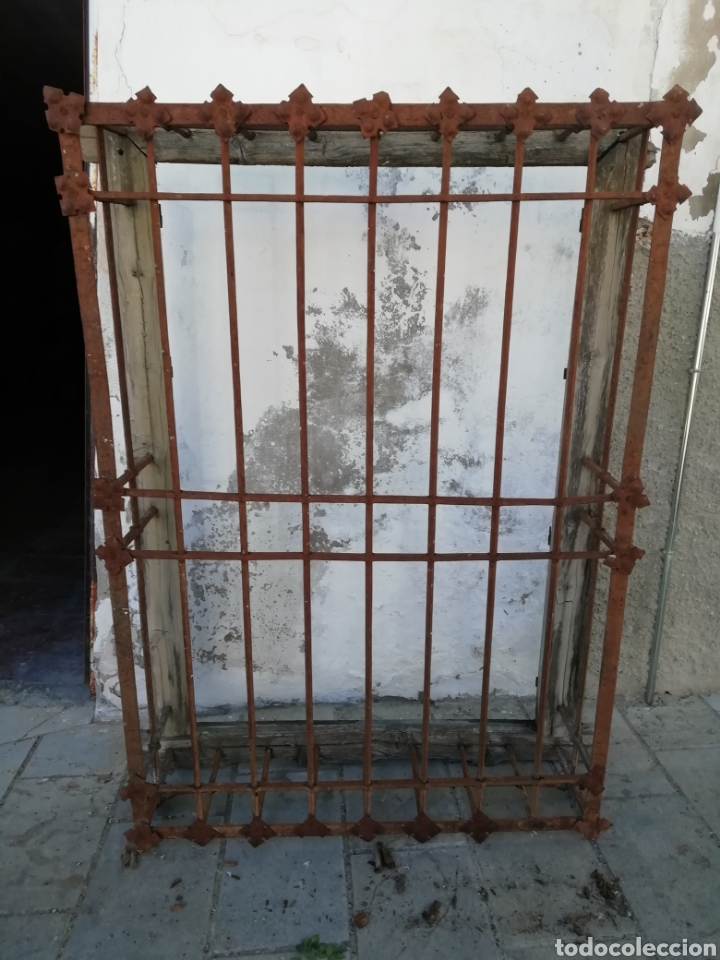 GRAN REJA DEL SIGLO XVI (Antigüedades - Técnicas - Cerrajería y Forja - Forjas Antiguas)