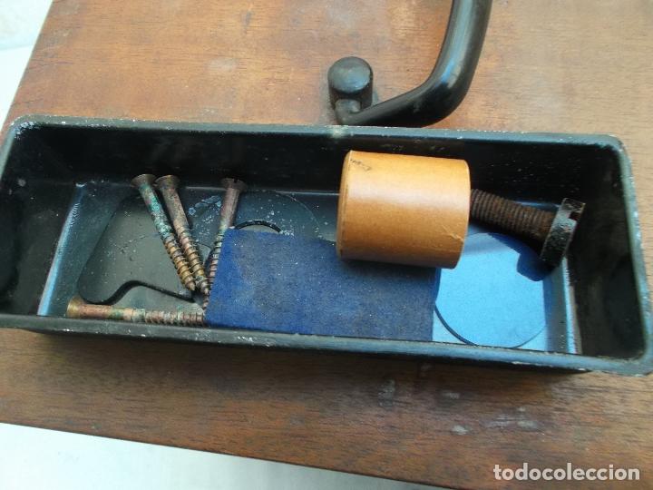 Antigüedades: microscopio,Stand Zeiss Jena LgO de principios de los años 40 microscopio aleman, decoracion, - Foto 22 - 165315410