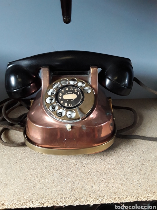 TELEFONO ANTIGUO (Antigüedades - Técnicas - Teléfonos Antiguos)