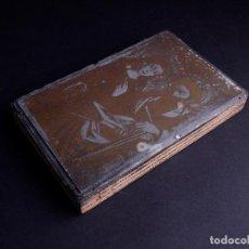 Antigüedades: ZINCOGRABADO, CLICHE PARA IMPRESION. ESTAMPA RELIGIOSA. Lote 165581946