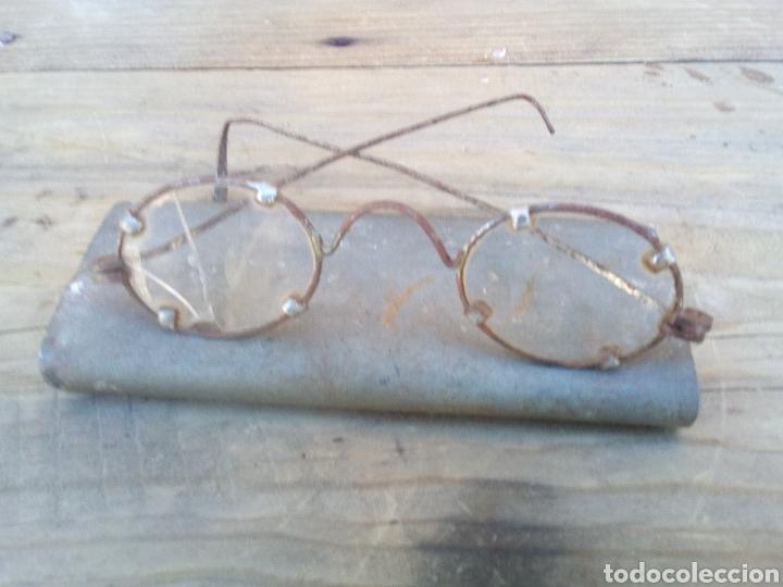 GAFAS DE PRIMEROS DEL SIGLO XX (Antigüedades - Técnicas - Instrumentos Ópticos - Gafas Antiguas)