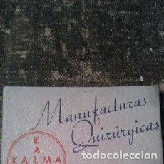 Antigüedades: ANTIGUA CAJA DE AGUJAS HIPODÉRMICAS MARCA KALMA , AGUJAS CON TUBO PROTECTOR. Lote 165691134