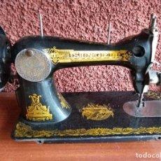 Antigüedades: MAQUINA COSER SINGER 1907 CON CAJA. Lote 165706622
