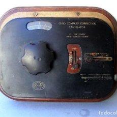 Antigüedades: CALCULADORA CORRECCION DE BRUJULA, SPERRY: GYRO COMPASS CORRECTION CALCULATOR SPERRY. Lote 165754334