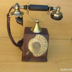 Teléfonos: RÉPLICA DEL TELÉFONO ANTIGUO DE SOBREMESA DEL FABRICANTE L.M.ERICCSON DE 1895,.. Lote 165811994