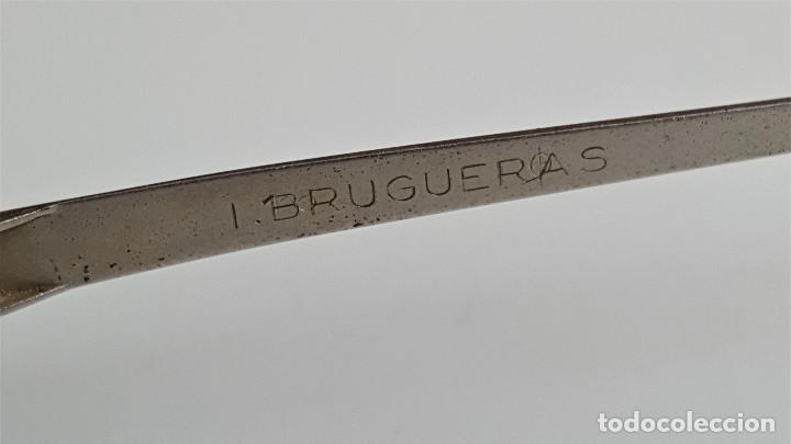 Antigüedades: ANTIGUAS GAFAS BRUGUERAS PEQUEÑAS PARA NIÑOS - LENTES CON MUY ALTO AUMENTO - 10.5.CM ANCHO germany - Foto 13 - 165846862