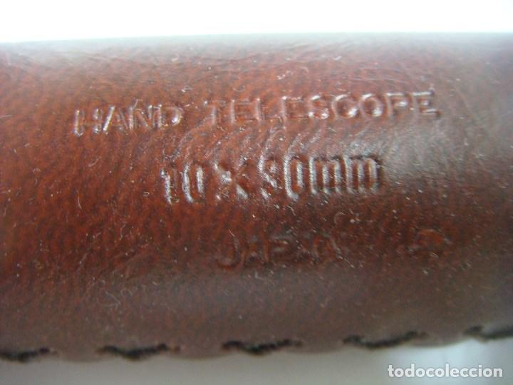 Antigüedades: CATALEJO HAND TELESCOPE 10X30 MM JAPAN - Foto 3 - 165866386