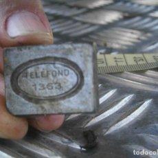 Antigüedades: ¡¡MOLDE PUBLICITARIO,DE,IMPRENTA,UNICO,EN,TC,AÑOS,30,40,¡¡TELEFONO 1363. Lote 165903498