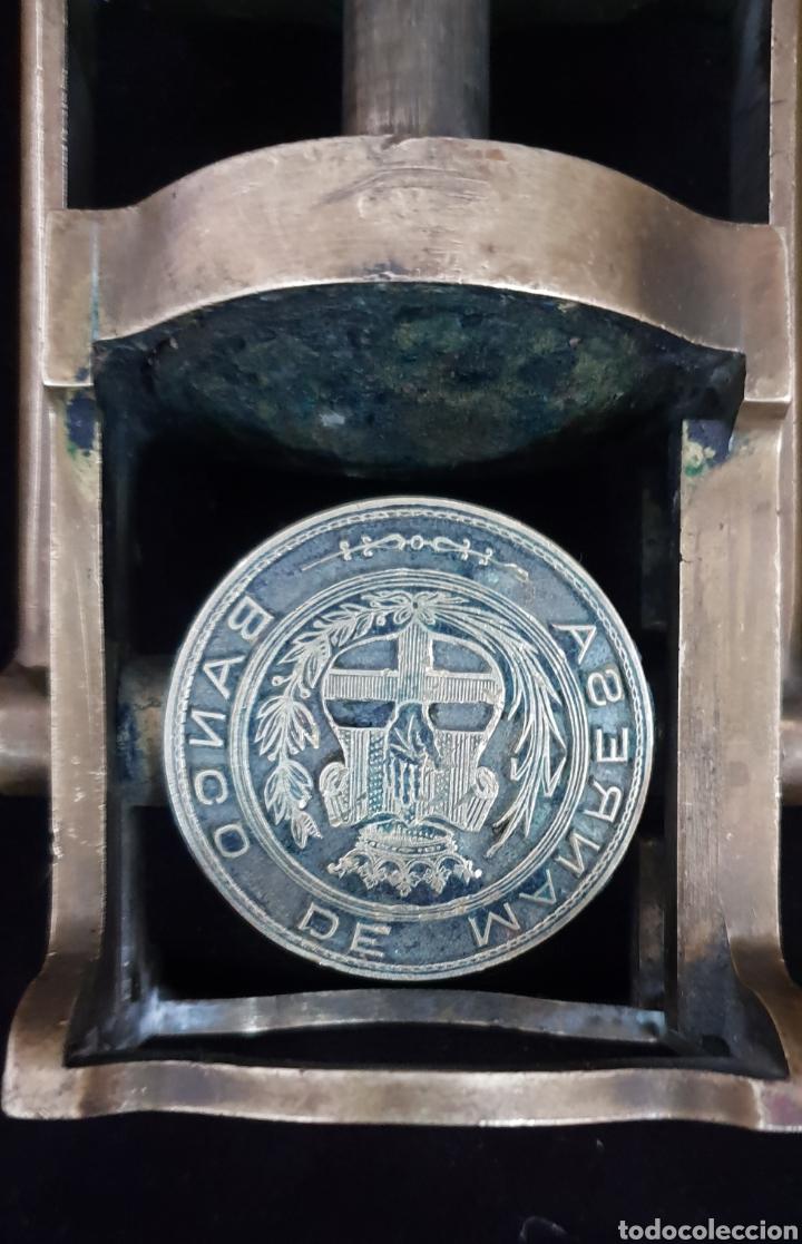 Antigüedades: Sello o tampón del Banco de Manresa - Foto 4 - 165908182
