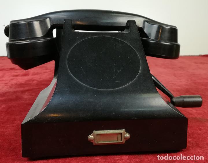 FERROCARRIL. TELÉFONO ANTIGUO MAGNETO. ERICSSON. RENFE. (CIRCA 1950) MADRID (Antigüedades - Técnicas - Teléfonos Antiguos)