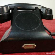 Teléfonos: FERROCARRIL. TELÉFONO ANTIGUO MAGNETO. ERICSSON. RENFE. (CIRCA 1950) MADRID. Lote 165925310
