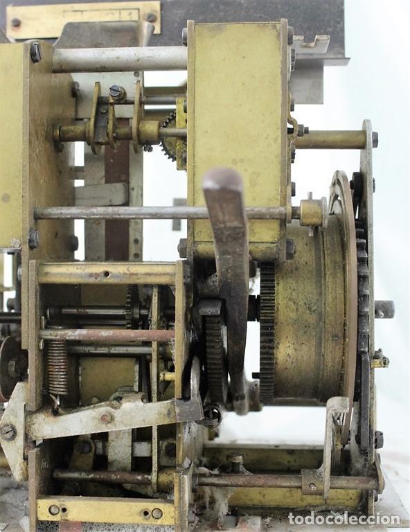 Antigüedades: Mecanismo de una antigua máquina de fichar,Kartenheber. - Foto 4 - 165954706