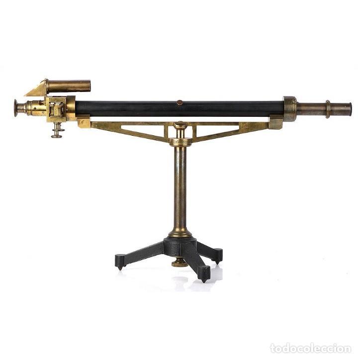 ANTIGUO POLARÍMETRO DE GRAN TAMAÑO SCHMIDT & HAENSCH. ALEMANIA, 1885 (Antigüedades - Técnicas - Otros Instrumentos Ópticos Antiguos)