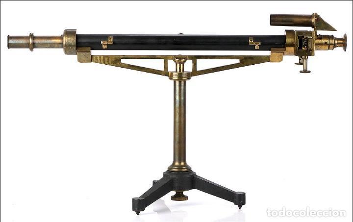 Antigüedades: Antiguo Polarímetro de Gran Tamaño Schmidt & Haensch. Alemania, 1885 - Foto 4 - 166003710