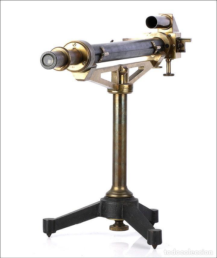 Antigüedades: Antiguo Polarímetro de Gran Tamaño Schmidt & Haensch. Alemania, 1885 - Foto 5 - 166003710