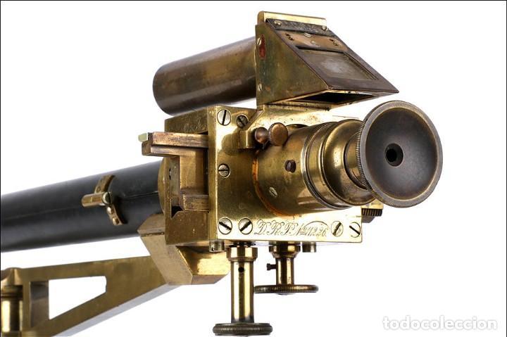 Antigüedades: Antiguo Polarímetro de Gran Tamaño Schmidt & Haensch. Alemania, 1885 - Foto 7 - 166003710