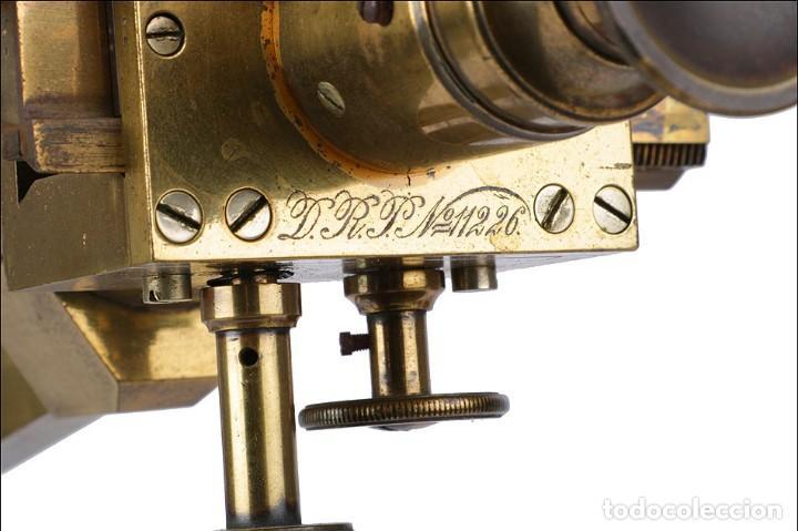Antigüedades: Antiguo Polarímetro de Gran Tamaño Schmidt & Haensch. Alemania, 1885 - Foto 8 - 166003710